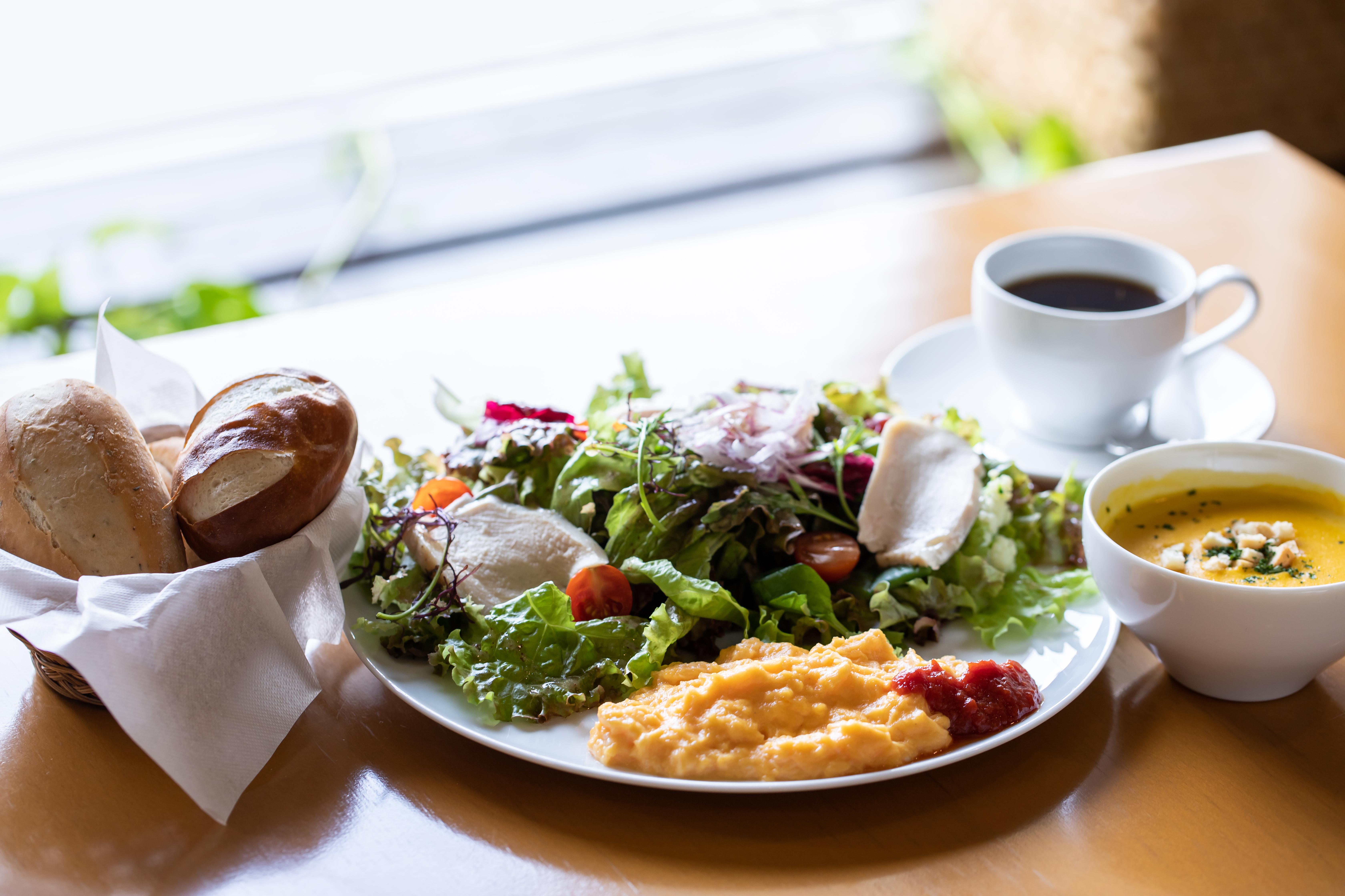 朝食はきちんと食べる
