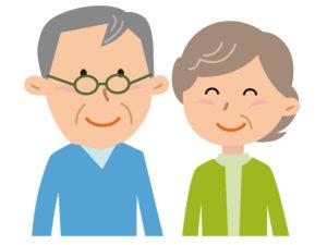 50代夫婦笑顔